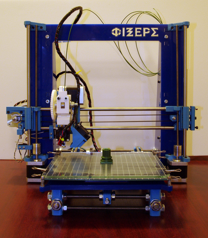 RepRap Prusa i3 assembled
