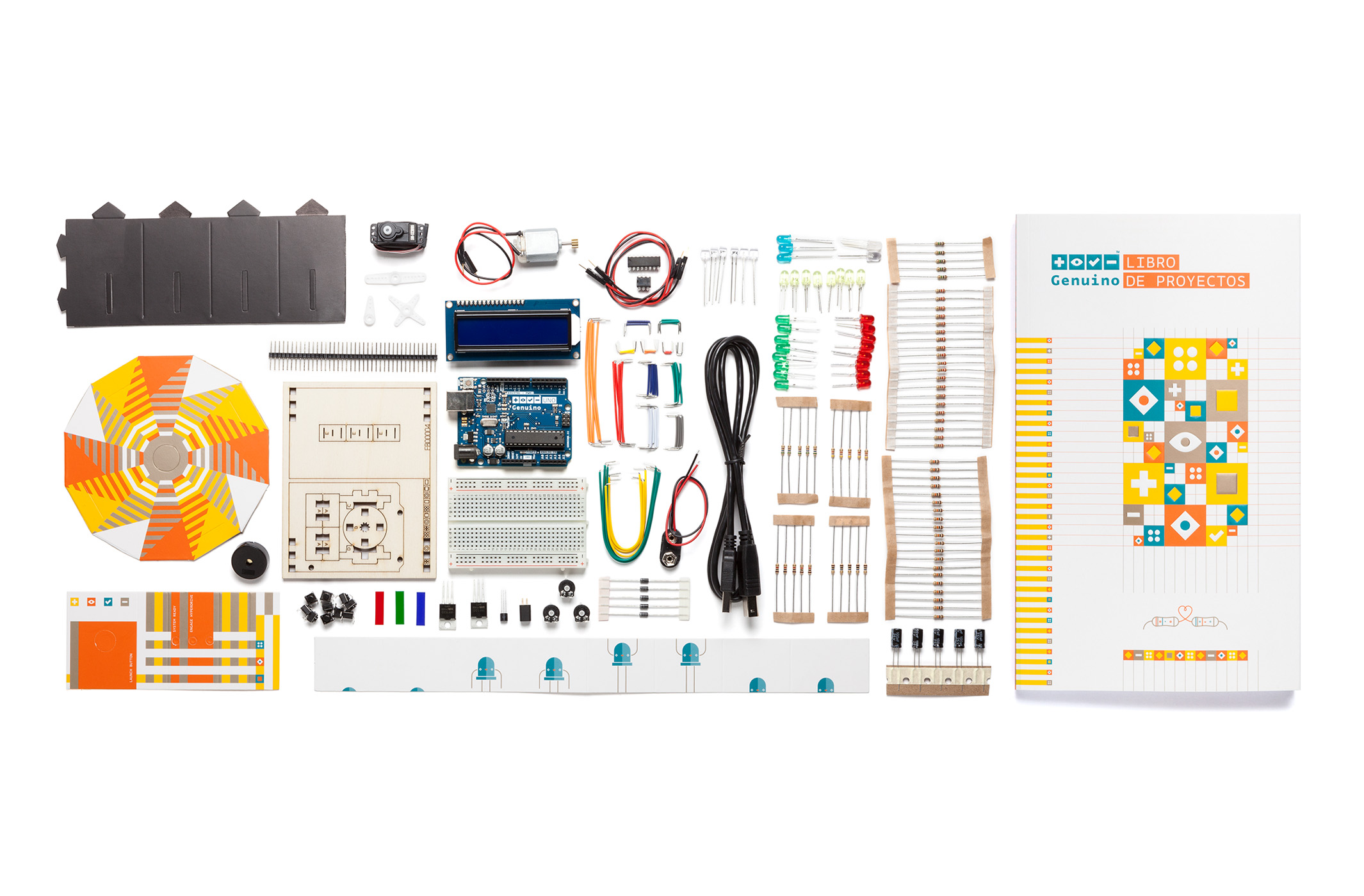 Genuino Starter Kit parts
